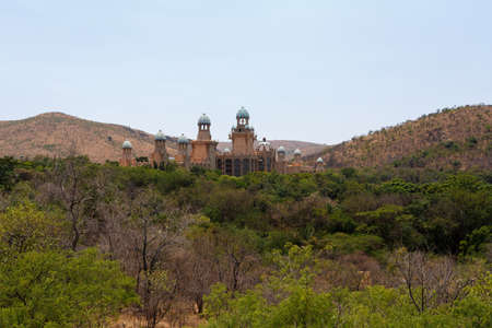 lost city: The Palace of Lost City, Luxury Resort in Sun City, South Africa Editorial