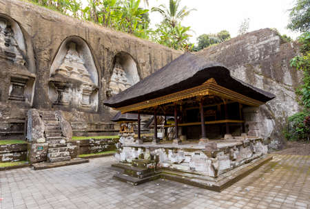 11th century: Gnung Kawi Temple. Gunug Kawi is an ancient temple situated in Pakerisan River, near Tampaksiring village in Bali. The archaeological complex is carved out of the living rock, dating to 11th century.