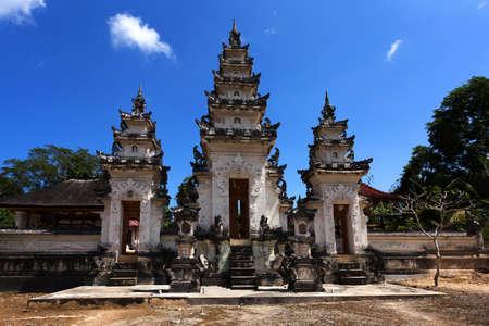 nusa: one of the three hindu temples at Pura Sahab, Nusa Penida, Bali, Indonesia