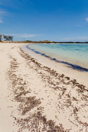 Beautiful beach in Diego Suarez bay in Indian ocean,  Madagascar beautiful picturesque nature landscape