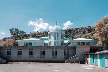 Debre Libanos, monastery in Ethiopia, lying northwest of Addis Ababa in the Semien Shewa Zone of the Oromia Region. Founded in the 13th century by Saint Tekle Haymanot. Ethiopia Africa