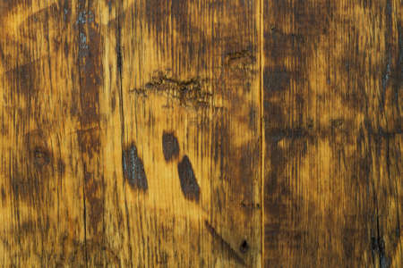 flaws: Background of old wood with cracks and flaws Stock Photo