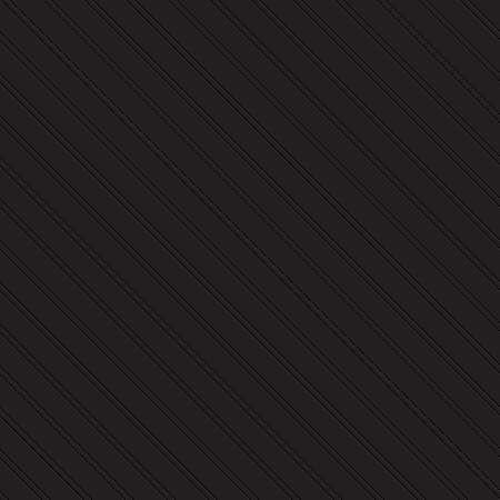 fluting: Embossed seamless pattern of lines on a black background Illustration