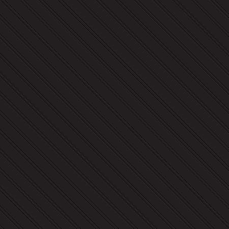Embossed seamless pattern of lines on a black background Illustration