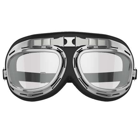 goggles: Pilot goggles Stock Photo