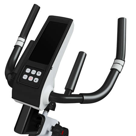 muscular control: Training apparatus. UI view on a white background