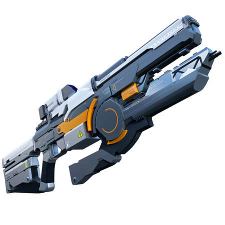 Fantastic assault gun for war in future