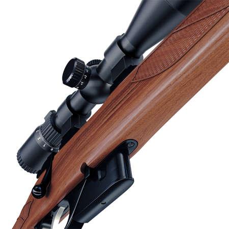 ergonomic: Nice and ergonomic assault rifle detailed bottom view