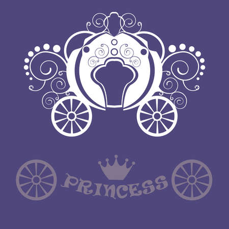 chariot: Beautiful vintage carriage for girls and princess