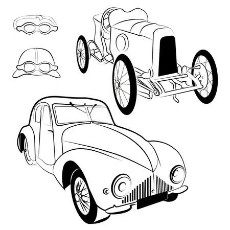 77 Classic Car Grill Stock Vector Illustration And Royalty Free