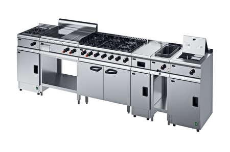 Outdoor Küchengeräte : Küchengeräte metall modern mit knopf. 3d grafik lizenzfreie fotos