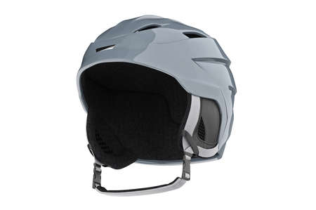 headwear: Helmet ski headwear sport equipment. 3D graphic