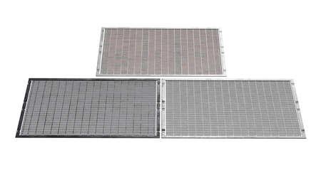 Steel sheet old silver floor. 3D rendering