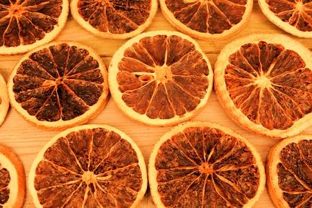 christmas deco: Naranjas secas como Navidad o fondo deco