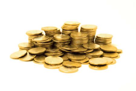 golden coins: golden coins Stock Photo
