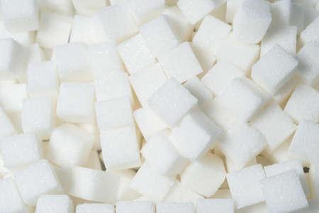 close up sugar cube background