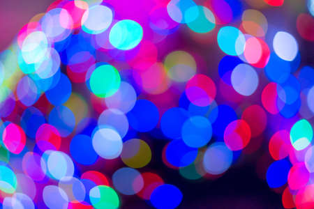 abstract colorful bokeh for background