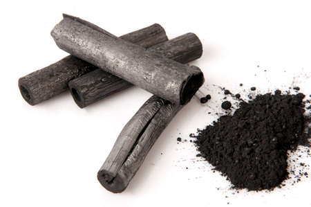 absorbent: Bamboo charcoal burned and powder.