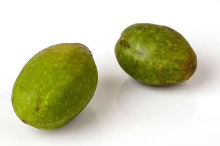 Chebulic Myrobalans, Myrolan Wood (Terminalia chebula Retz.)Fruit. Stok Fotoğraf - 85499617