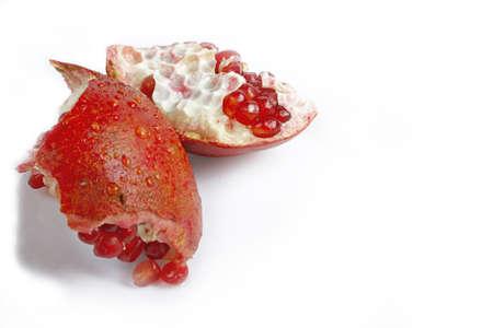 pommegranates: Pomegranate Stock Photo