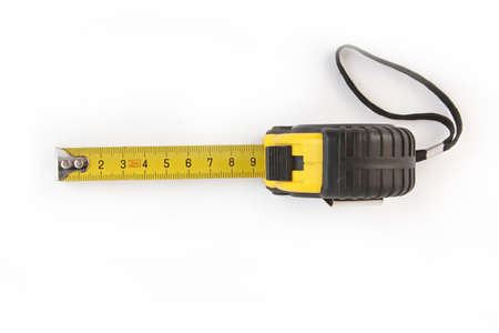 wooden metre: Meter instrument length long  Stock Photo