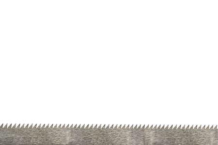 a border of sawtooth on white ground