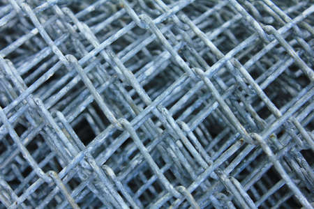 close up the aluminum wire photo