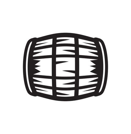 Vector illustration of the barrel