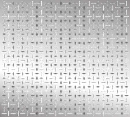steel sheet: metal-plate Illustration