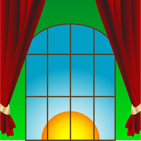 Window in the room