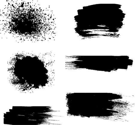 Black spray