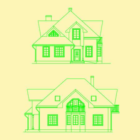 architecture - facade Illustration