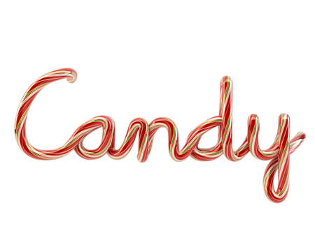 candy on white Stock Photo - 9112562