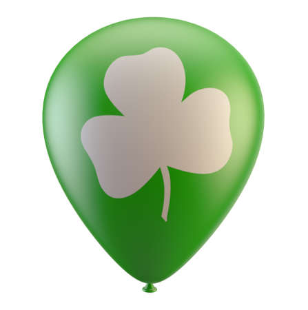 st. patric day balloon Stock Photo - 9112558