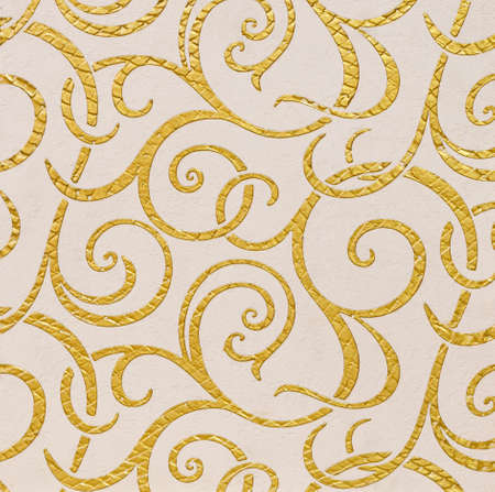 plastered wall: Decorative stucco texture (background art deco texture)