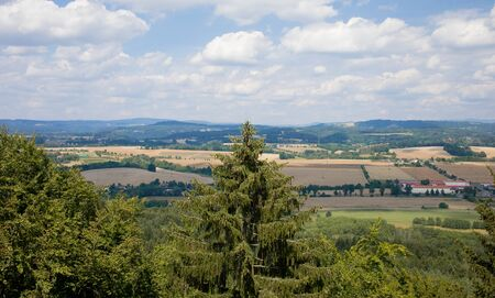 panoramic view of czech