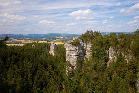 view of mountains in czech Reklamní fotografie