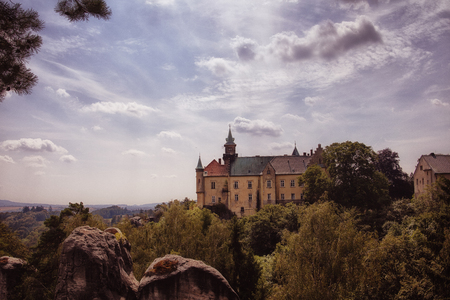 Bohemian Paradise, castle Hrub? Sk?la
