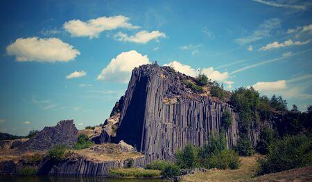 Pansk? Sk?la - Fascinating Rock in Northern Bohemia, unique rocks Stock fotó