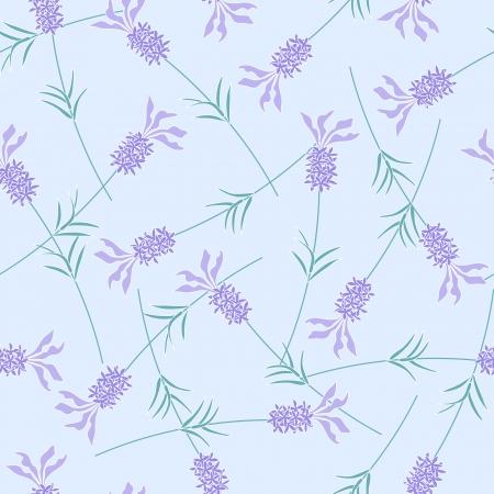 Lavendelblauw naadloze achtergrond patroon