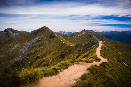 kepler: Kepler Track Fiordland New Zealand Stock Photo