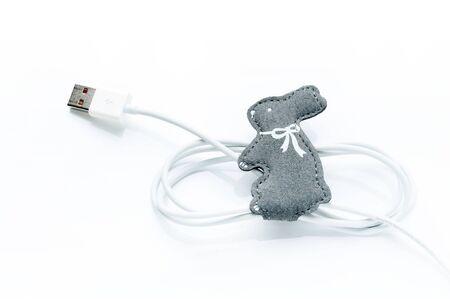 cord organizer - rabbit