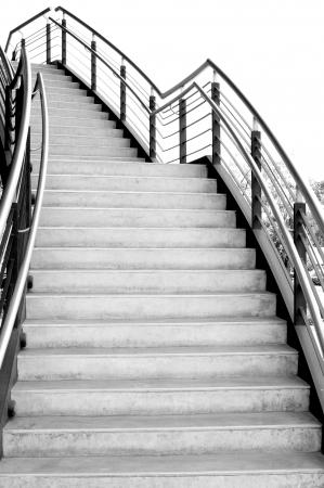 íves lépcső kültéri Stock fotó