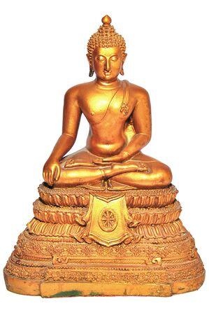 Buddha, isolated on white background