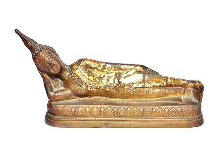 Buddha, elszigetelt fehér háttér
