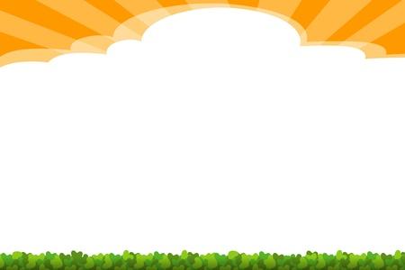 background - sunny