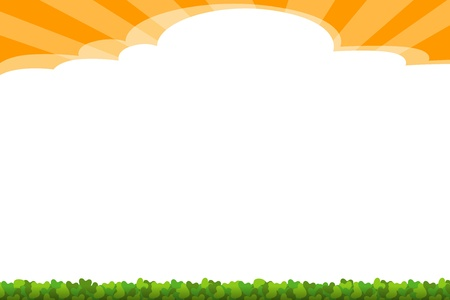 background - sunny Stock Photo - 14744205