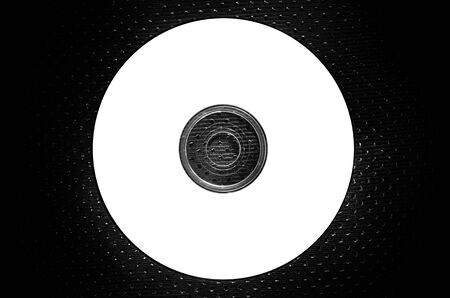 a CD on texture background white-blank-blank