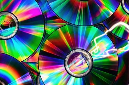 CD-k szivárvány színei