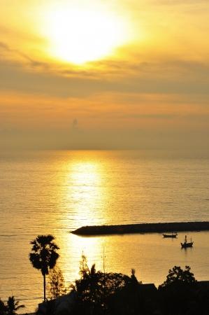 kagyló tenger napkelte reggel függőleges